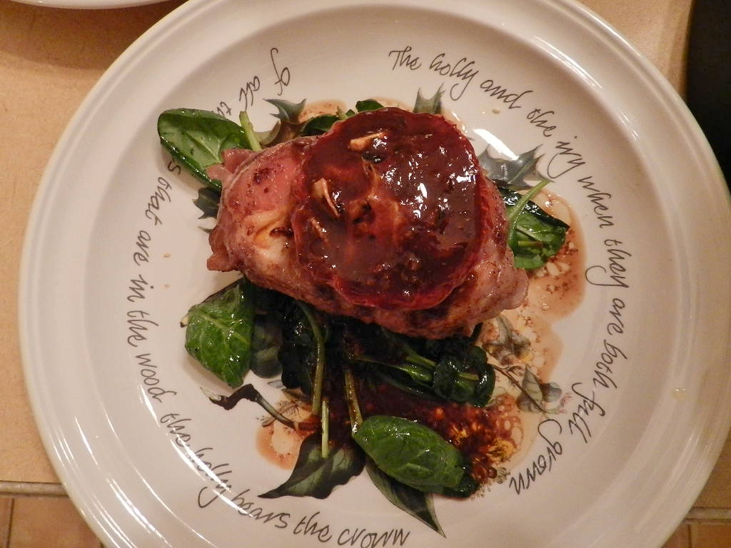 ... vine ripe tomatoes drizzled with a tomato – balsamic reduction