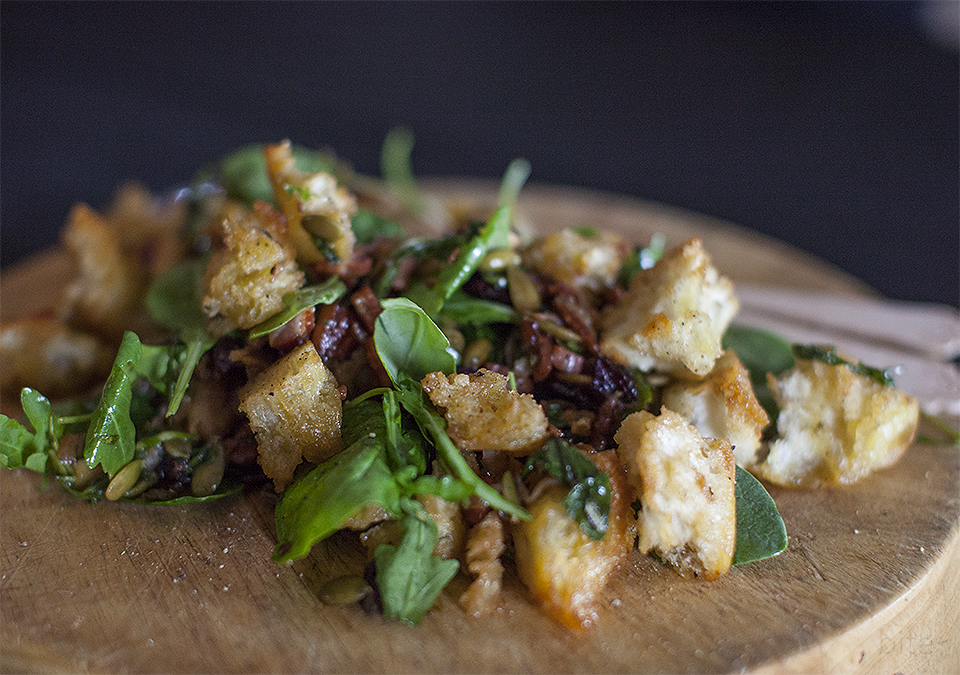 TUSCAN BREAD SALAD – A WINTER PANZANELLA slightly adapted from ...